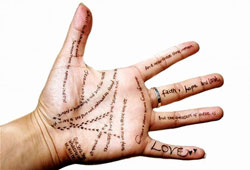 Palm Reading Diagram and Meanings
