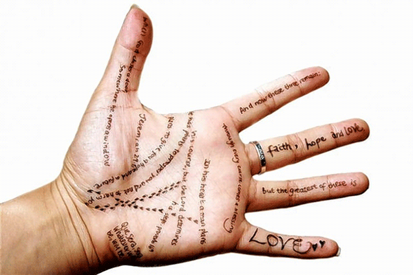 How A Basic Palm Reading Diagram Can Foretell Your Future
