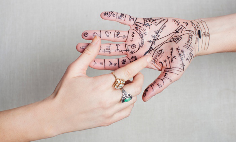 Palm Reading Chart and Meanings Explained